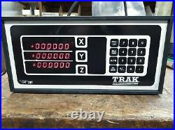 SWI TRAK Digital Position Readout System 3-Axis NOS