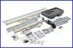 Shars. 0002 Xyz 2axis Digital Readout Dro MILL Kit New Glass New R