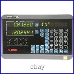 Sino 2 Axis Digital Readout Kit with 5µm MK300 Scales FREE DELIVERY