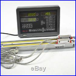 Sinpo Digital Readout 2 Axis Dro Kit With Linear Scales For Lathe Machine Cnc