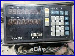 Sony LH51-2 2-Axis Sony Millman DRO Box, Digital Readout with scales 18 and 36