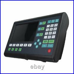 YIHAOGD New LCD 2/3 Axis Grating CNC Milling Digital Readout Display DRO fits YI